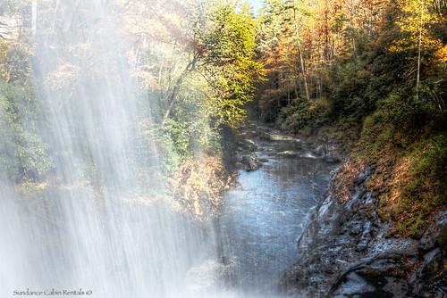 waterfall waterfalls blueridgemountains nantahalanationalforest sundancecabinrentals