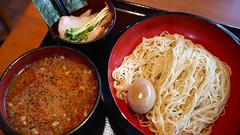 イツワつけ麺+味付け玉子@イツワ�…