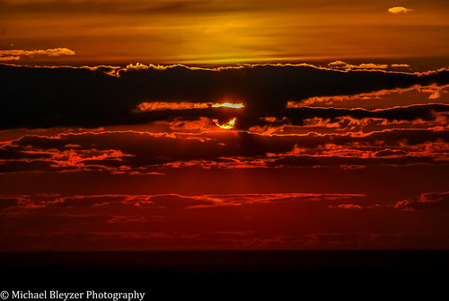 sunset red orange sun colors clouds dark kazakhstan astana