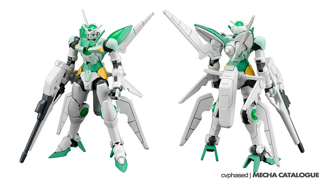 HGBF ガンダム ポータント - Colored Prototype Shots