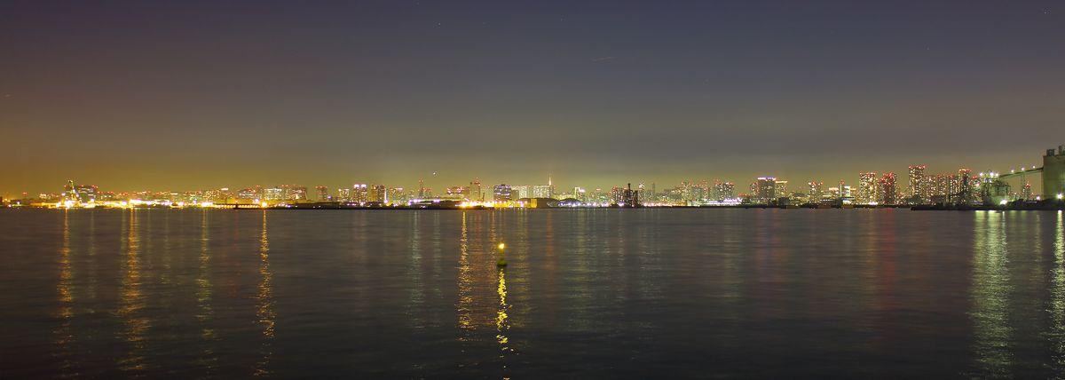 東京ゲートブリッジからの夜景