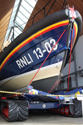 The Exmouth lifeboat station's Shannon class lifeboat