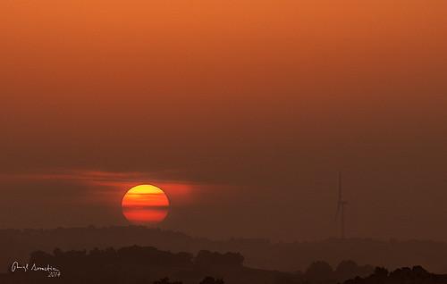 sunset sun sol atardecer nikon paisaje d300 barasoain sigma70200 valdorba txapardia12