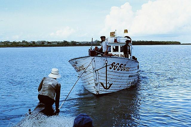 Vietnam 1968 - Fishing Boat