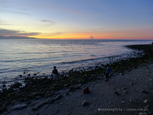Sunset at Centennial Park in Iligan City, Philippines