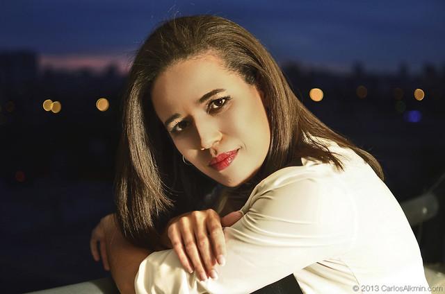 Foto da capa do CD da cantora Barbara Leite