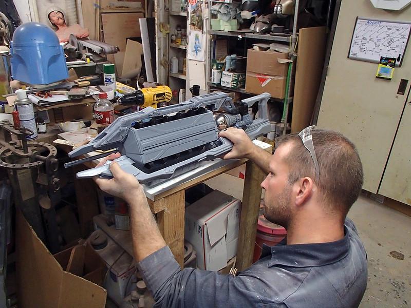 Dry Fitting Lightning Gun Parts