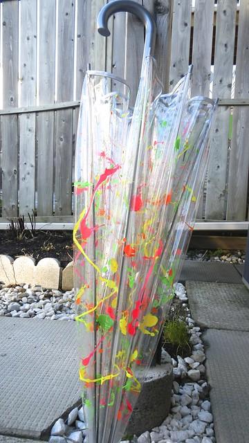 Neon Umbrella 26