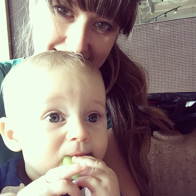 Cucumber lunch with my little man! by bartlewife