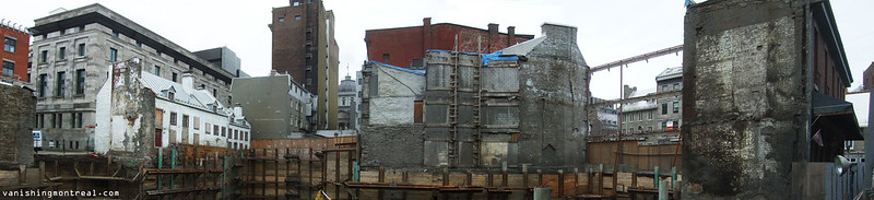 Demolition/Construction Place Jacques-Cartier panoramic 1