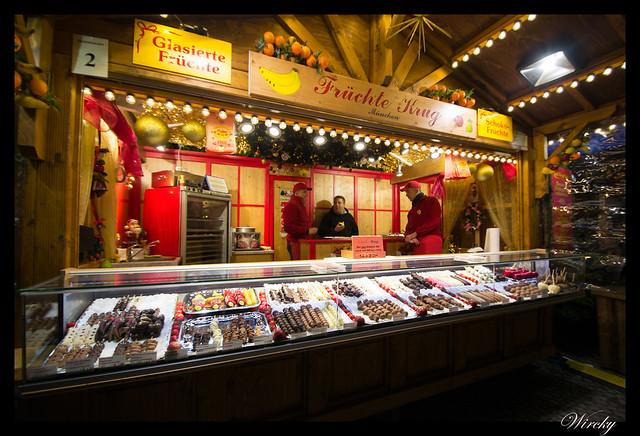 Mercado de Navidad la Residenz de Munich
