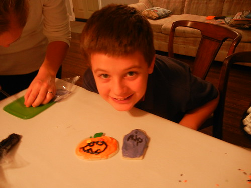 Oct 27 2014 FHE Halloween Sugar Cookies (17)