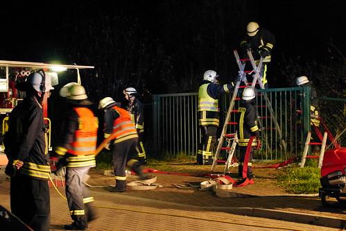Einsatzübung Freiwillige Feuerwehr Ragow #2
