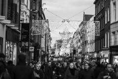 Looking down Graton Street Christmas 2014