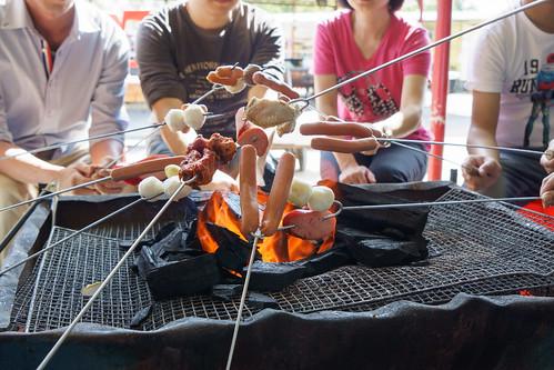 一起來燒烤叉叉樂吧!