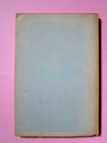 L'entrata in guerra, di Italo Calvino. Einaudi 1954. [Progetto grafico di Albe Steiner]. Quarta di copertina (part.), 1