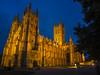 Canterbury Cathedral at Dusk