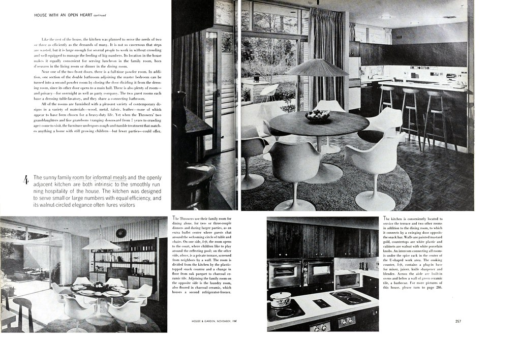 Thrower Residence, Sedgefield, NC, 1962 ( (Page 3 of 4)