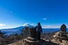 富士山を眺める@三ッ峠山