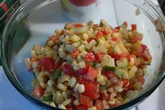 Zucchini,Squash,Corn Filling