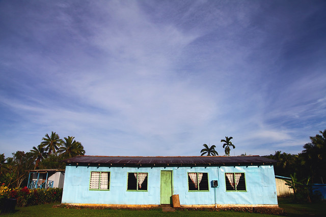 The community hall (Nakavika, Fiji)