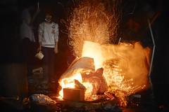 melting(0.0), sparkler(0.0), campfire(0.0), fire(1.0), darkness(1.0), flame(1.0), night(1.0), lighting(1.0), bonfire(1.0),