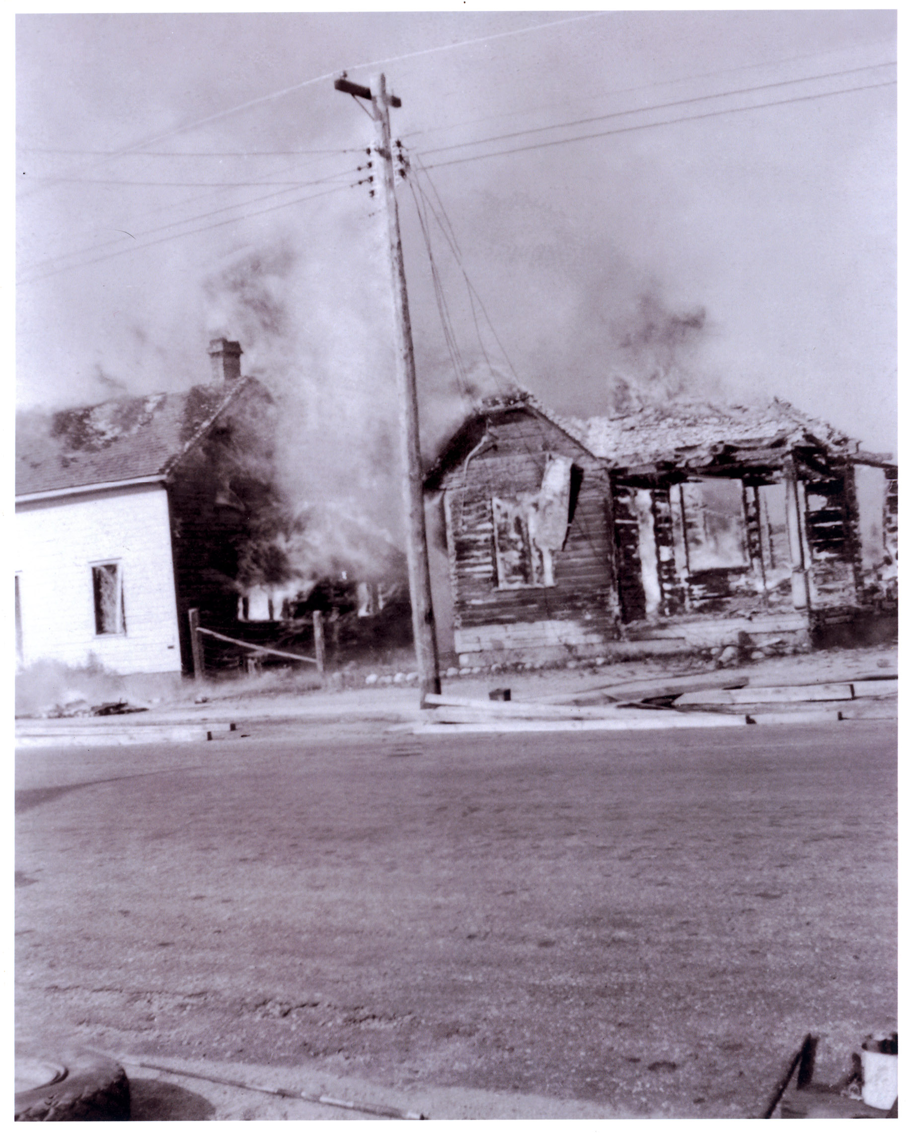 Northbrook Ontario Fire. 1941