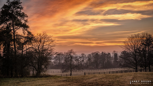 trees sunset england sky mist colors clouds gate colours unitedkingdom sony fields southoxfordshire ewelme britwellsalome a99 sonyalpha andyhough slta99v andyhoughphotography tamronsp70200di