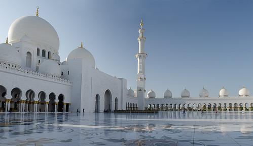 Sheikh Zayed Grand Mosque Center, inside