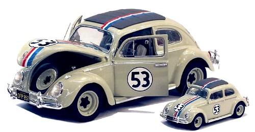 Hot Wheels Herbie 1-18 & 1-43