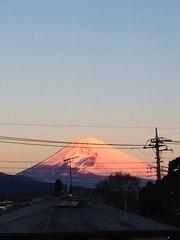 Mt.Fuji 富士山 1/2/2015