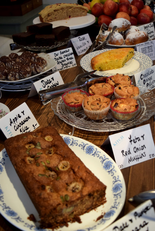 Cakes at KITCH, Canterbury