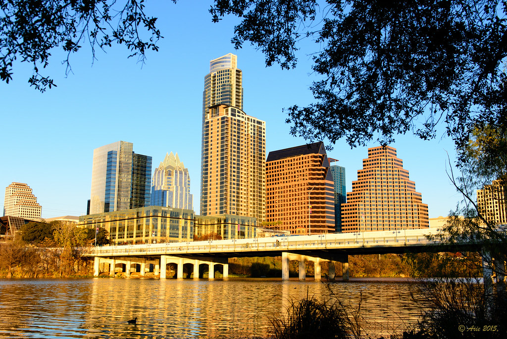 Austin Skyline at Golden Hour