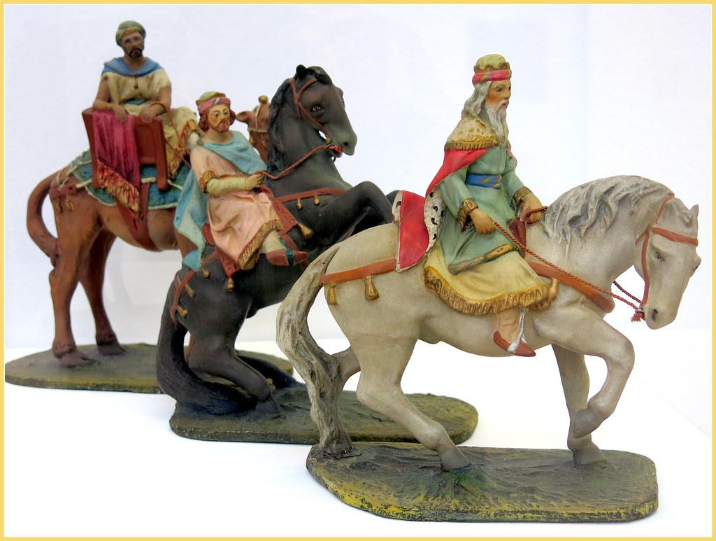 Figuras artesanas para el belén