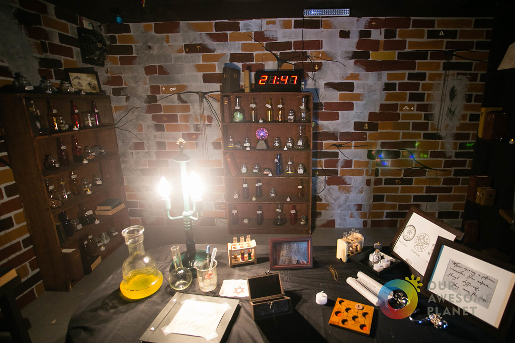 World Of Wizardry Harry Potter Inspired Mystery Room
