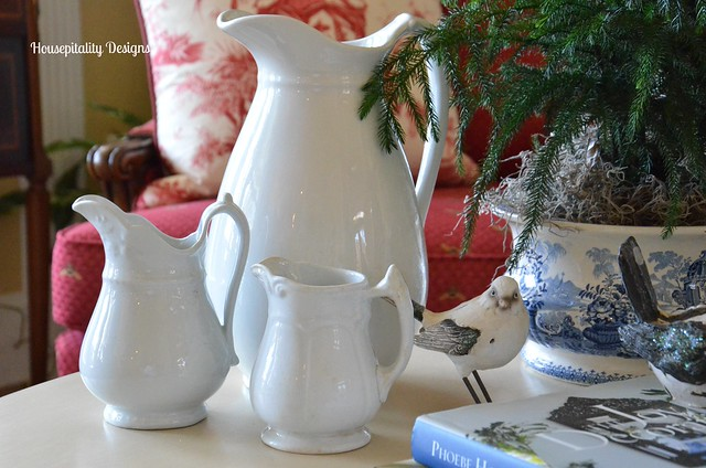 Ironstone PItchers-Housepitality Designs
