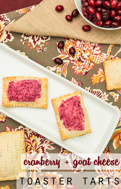 homemade poptarts cranberry and goat cheese #sweetswaps