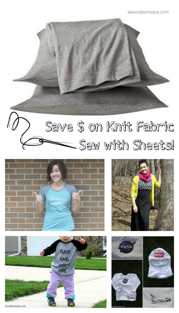 Sewing with Knit Sheets