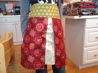 Holiday Four FQ Apron