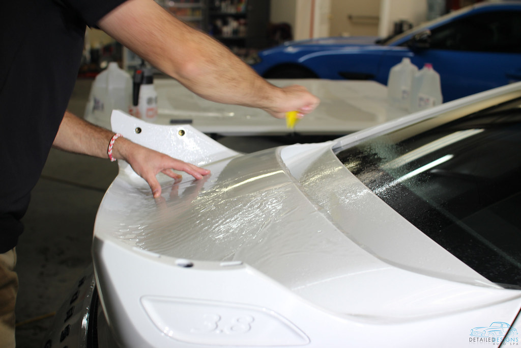 Atlanta Porsche Car Detailing and Clear Bra
