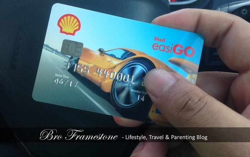 Kad Prabayar Shell easiGO American Express