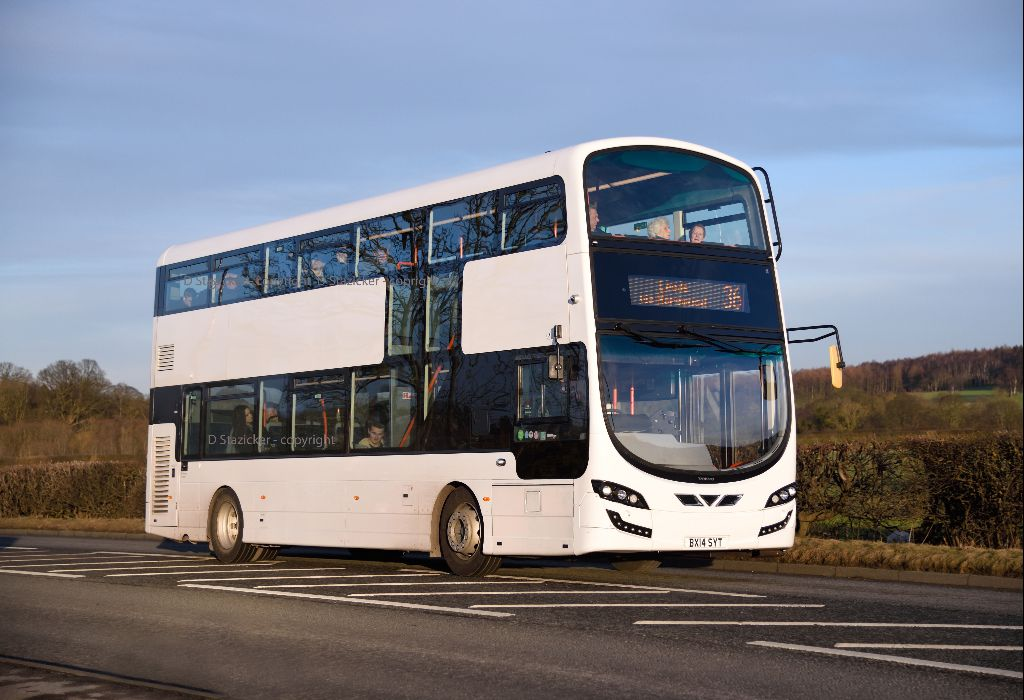 a white wright right | Transdev Harrogate have this very lat
