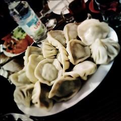 mushroom(0.0), meal(1.0), momo(1.0), pelmeni(1.0), food(1.0), dish(1.0), dumpling(1.0), jiaozi(1.0), khinkali(1.0), cuisine(1.0),