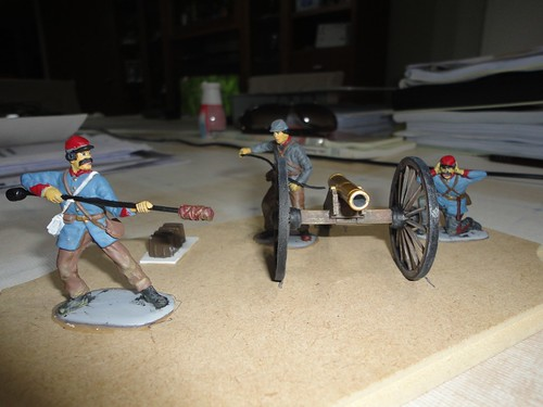 IMEX 1:32/54mm Confederate Cannon Set ref 781 16115713420_f41f0ae14a
