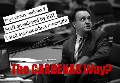 cardenas corrupt