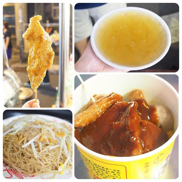 廣州街夜市美食 ▎頂級甜不辣、懷念愛玉冰、兩喜號魷魚羹