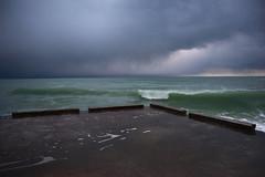 Black Sea in winter