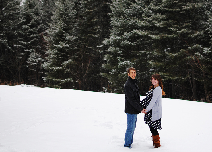 Third Trimester in the Snow