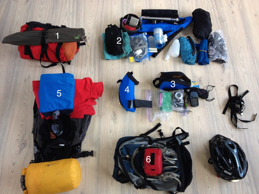 Packing list 3 weeks bikepacking in Spain