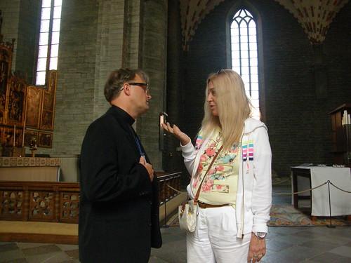 Vassula with Fr. Magnus
